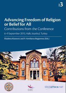 CEC Advancing Freedom of Religion or Belief Cover Globethics
