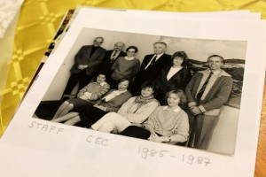 Archival photo of CEC staff during the 1980s. Photo: Erin Green/CEC.