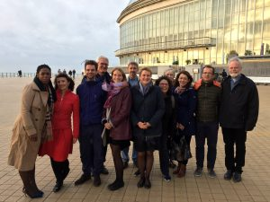 The staff team of the Conference of European Churches