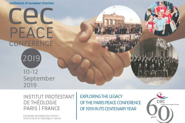 CEC Peace Conference to be held in Paris | CEC
